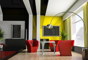 Солнечная гармония в интерьере: подбираем к желтым обоям оригинальные шторы