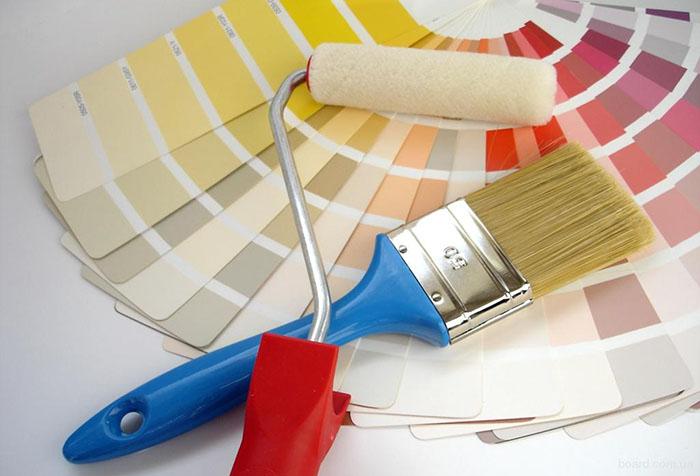 Выбор оттенка краски