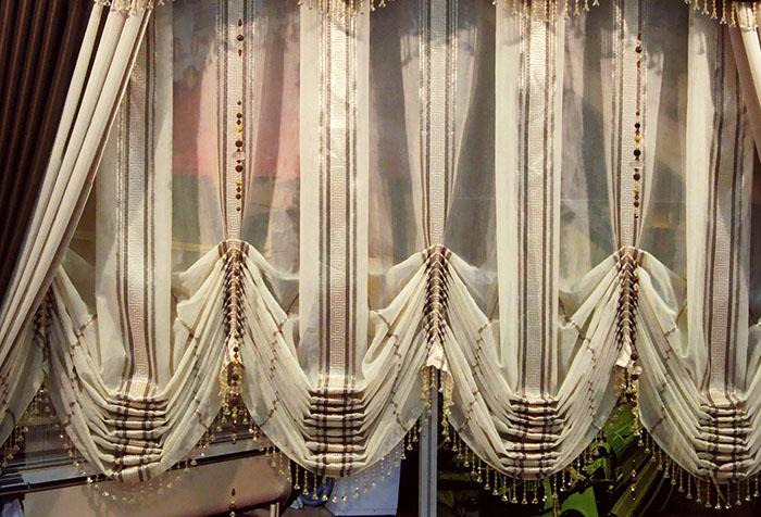 Особенности австрийской шторы