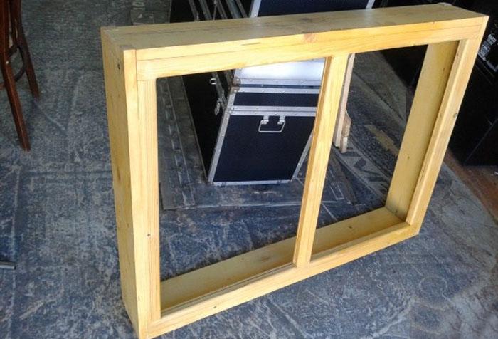 Короб деревянного окна