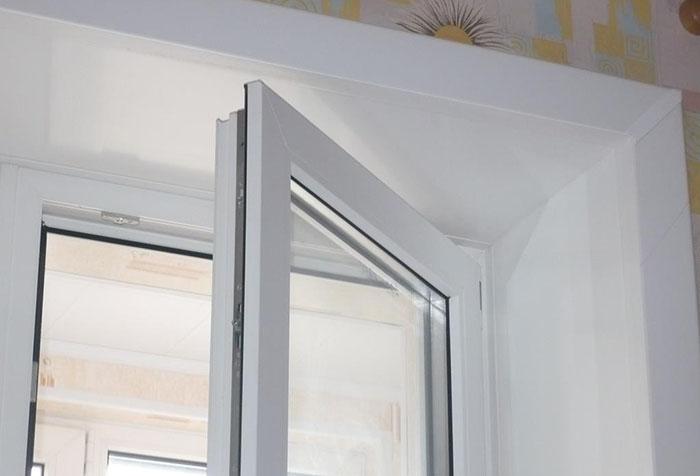 Новые откосы на окне