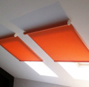 Минималистичные рулонные шторы