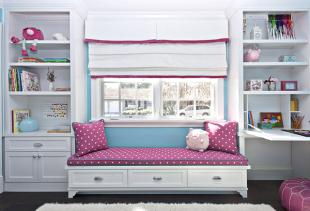 Как выбрать удачные римские шторы для детской комнаты