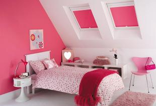 Выбор рулонных штор для детской комнаты