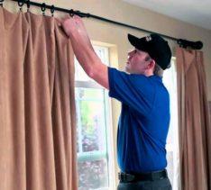 Пошаговая инструкция установки карнизов для штор