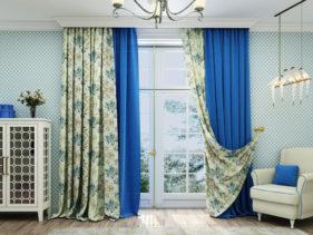 Правила подбора и применения комбинированных штор