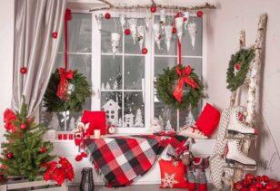Как украсить дом к Новому году 10 идей