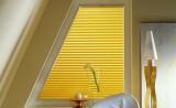 Штора плиссе для окна трапецевидной формы